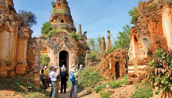 Myanmar Walking & Hiking Tour